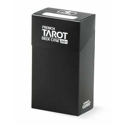 Ultimate Guard French Tarot Deck Case 80+ Black (2211739)