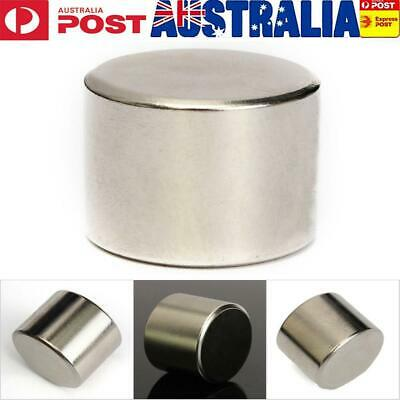 25x20mm Neodymium Rare Earth Block Magnet Big Super Strong Round Disc N52
