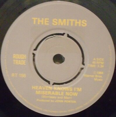 """THE SMITHS ~ Heaven Knows Im Miserable Now ~ 7"""" Single"""