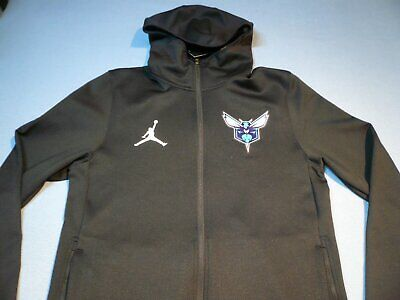 0f4b4ca118f Nike air Jordan Charlotte Hornets Showtime MEDIUM BRAND NEW Jacket Hoodie