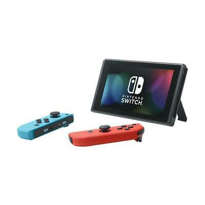 Nintendo Switch 32GB Console with Neon Red and Neon Blue Joy-Con #HACSKABAA
