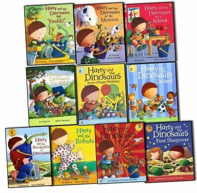 Harry And The Bucketful Of Dinosaurs 10 Books Set Collection NEW