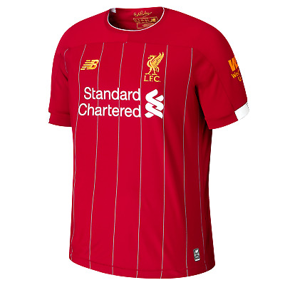 Liverpool FC Official Home Mens Short Sleeve Replica T-Shirt 2019/20