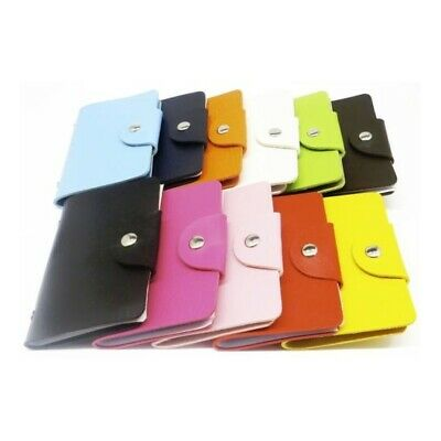 Credit ID Card Holder Wallet Pocket PU Leather Money Cash Purse Travel Mini Slim