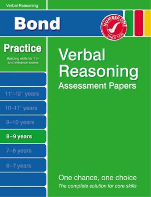 Bond Second Papers in Verbal Reasoning 8-9 Years (Bond Assessment Papers), J M B