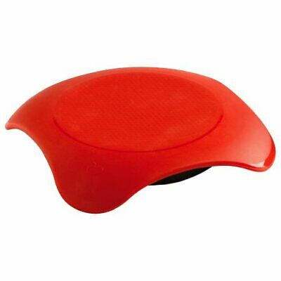 Mastrad F04110 Chauffe-Plat Micro-Ondable Magma Rouge (Rouge)