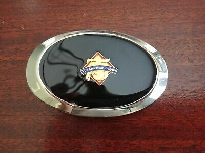 Vintage The American Legion 75 Years Anniversary Metal Belt Buckle