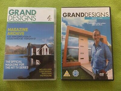 CD ROM - Grand Designs Magazines March 06 - February 07 + DVD Channel 4 Series 3