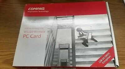 COMPAQ WL110 PC CARD DRIVERS FOR WINDOWS 10