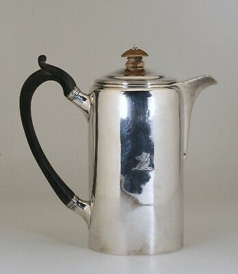 Georgian Sterling Silver Chocolate or Tea Pot / Samuel Whitford - London 1807