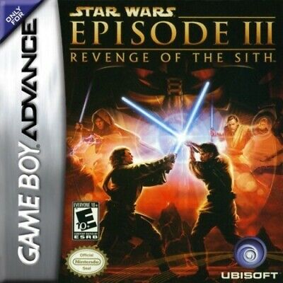Star Wars: Episode III: Revenge of the Sith - Game Boy Advance GBA Game