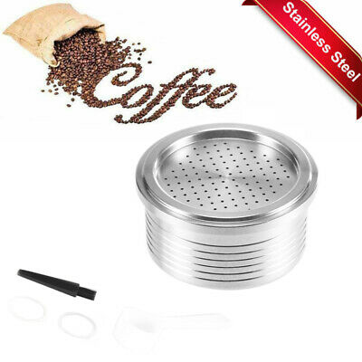 Refillable Coffee Capsule Stainless Reusable Coffee Filter Cup Fragrant Coffee