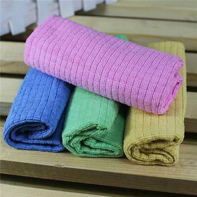 Car Cleaning Towels Multicolor Washing Cloth Ultra Thick Plush Absorbent Set AL