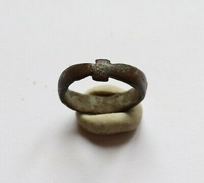 Authentic Medieval Viking Era Bronze Ring