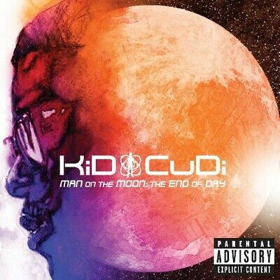 Man On The Moon: The End Of Day - Kid Cudi (2009, CD NEUF) Explicit Version