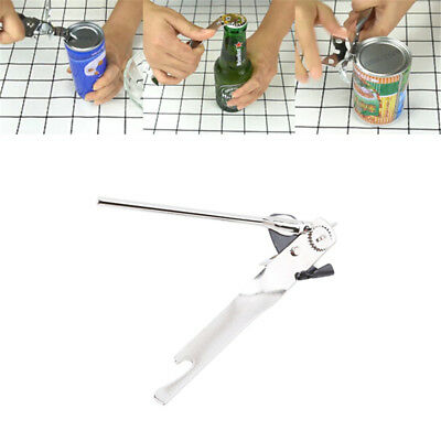Stainless Steel Kitchen Can Tin Bottle Metal Steel Food Opener Camping Supply AL