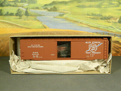 HO Kit Accurail No. 5017 50' AAR Steel Boxcar COTTON BELT ROUTE SSW #20035 New