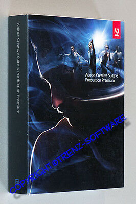 neu: Adobe Creative Suite 6 Production Premium MAC deutsch Upgrade - MwSt CS6