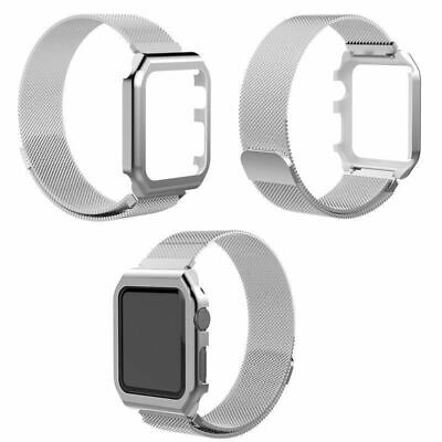 Milanese Stainless Steel iWatch Band Strap+Cover Case For Apple Watch Series 1~3