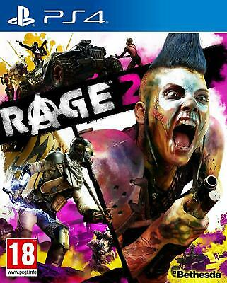 Rage 2 Sony PS4 (UK NEW & SEALED) Open World Combat Action Adventure Shooter