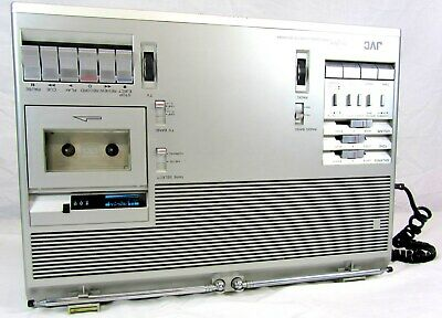 Jvc Cx-71Ous Portable Color Tv/Stereo/Radio/Cassette/Recording Boombox - Working