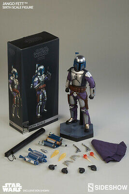Star Wars Sideshow Jango Fett 1/6 Scale Figure Boba Fett Vader Bounty Hunter
