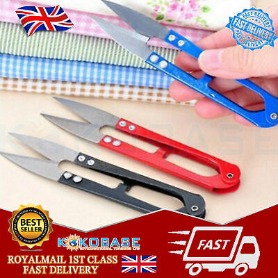 Pack Of 3 Mini Handheld Sewing Embroidery Thread Trimmer Cutter Snips Scissors