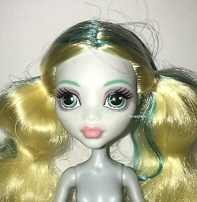 Monster High ShriekWrecked Nautical Ghouls Lagoona Blue Nude Doll NEW for OOAK