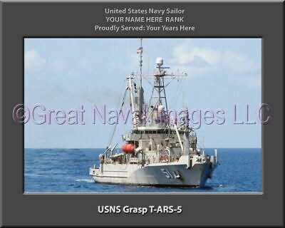 USNS Cesar Chavez Sticker Military Armed Forces Navy Decal M254