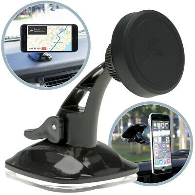 Magnetic Mount Car Windscreen Suction Holder Stand For Mobile Cell Phone GPS