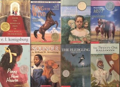 Lot Of 8 Newbery Medal And Newbery Honor Books