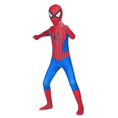 HOT SpiderMan Enfants Garçon Adulte Costume De Déguisement Cosplay Halloween