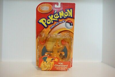 Charizard Pokemon Action Figure Toy Game Hasbro 1999 RARE - Projectile Flames