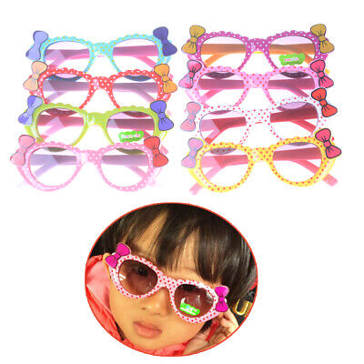 Cute Fashion Baby Sunglasses With Cat Eye Bows For Girls
