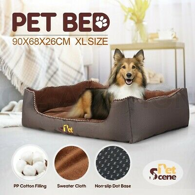 Large Size Pet Dog Cat Bed Mattress Puppy Pad Mat Washable Kitten Cushion