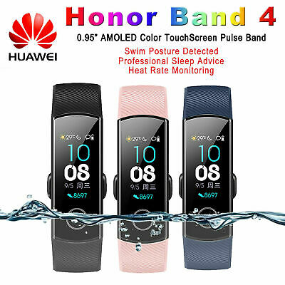 For Huawei Honor Band 4 Smart Watch Wristband AMOLED Touch Screen Bluetooth 4.2
