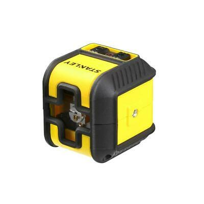 STANLEY CUBIX Self Levelling Red Cross Line Laser Level & Mounting Clamp, 177498