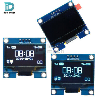 "1.3"" OLED LCD Display Module IIC I2C Interface 3.3-5V White/Blue For Arduino"