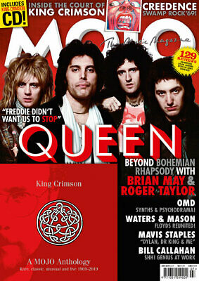 MOJO - Queen  # 308 / July  2019 (NEW MAGAZINE & CD)