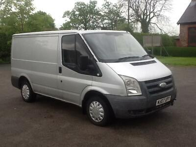 Ford Transit 2.2TDCi Duratorq ( 85PS ) 260S ( Low Roof ) 2007.5MY 260 SWB silver