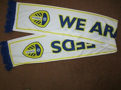 2018/19 CHAMPIONSHIP PLAY-OFF LEEDS UNITED v DERBY COUNTY WE ARE LEEDS SCARF