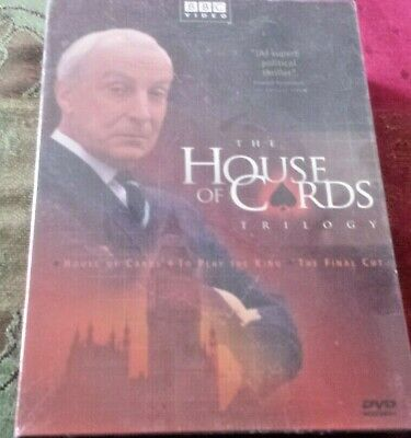 House of Cards Trilogy, Original UK Series. DVD Brand New Sealed