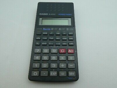 Casio Fx-82Sx Fraction Calculator  Vintage Retro