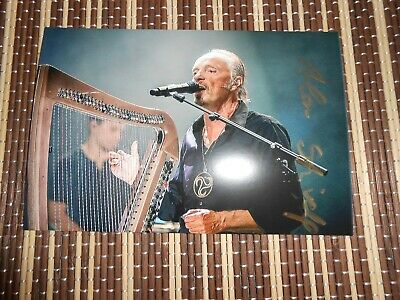 Alan Stivell, Musician/ Singer, Original Hand Signed Photo 6 x 4