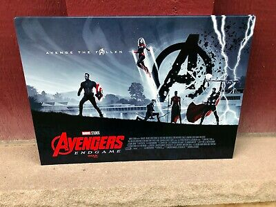"AVENGERS ENDGAME AMC IMAX EXCLUSIVE movie POSTER 11"" x 15.5"" (poster #1)"