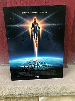 "CAPTAIN MARVEL AMC IMAX EXCLUSIVE movie POSTER 8 1/2"" x 11"""