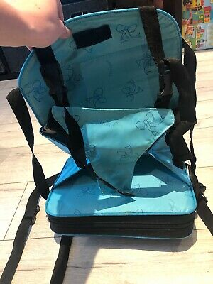 Portable High Chair Toddler Baby Padded Hardly Used