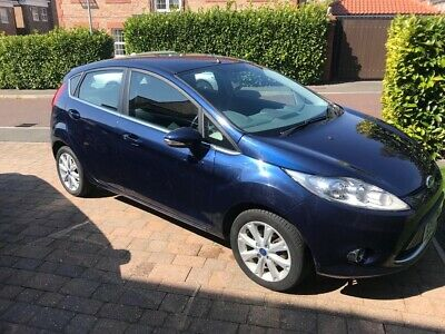 FORD FIESTA 1.4 TDCI Z TEC 5 door 2011 Blue colour