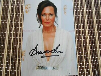 Amanda Mealing,  Actress,  Original Hand Signed Photo 6 x 4