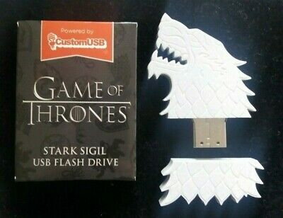 20x GAME OF THRONES STARK WOLF USB FLASH DRIVE 4GB BRAND NEW WHOLESALE LOT HBO